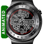 Open Gears HD Watch Face