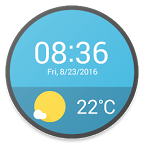 Material Weather Watch Faces