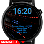 Watch Face: Metallic Wallpaper