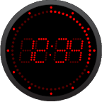 Led Clock Watch Face