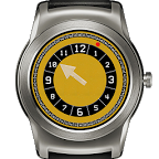 Bellow and Yellow Watch Face