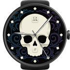 Skull Watch Face