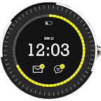 CharCoal Digital Watch Face