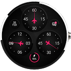 Fighter Jet F Raptor WatchFace