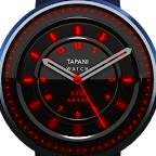 Red Abyss WEATHER watch face
