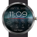 Weather for Bokeh Watch Face