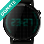 Pixels Watch Face (Donate)