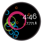 Coubertin Rings: Watch Face