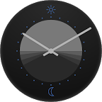 24h Analog Watch Face
