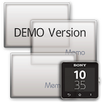 Photo Memo widget (DEMO) +SW2