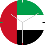 UAE Flag Watch Face
