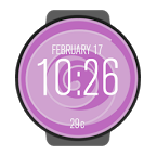 Lollipop Watch Face